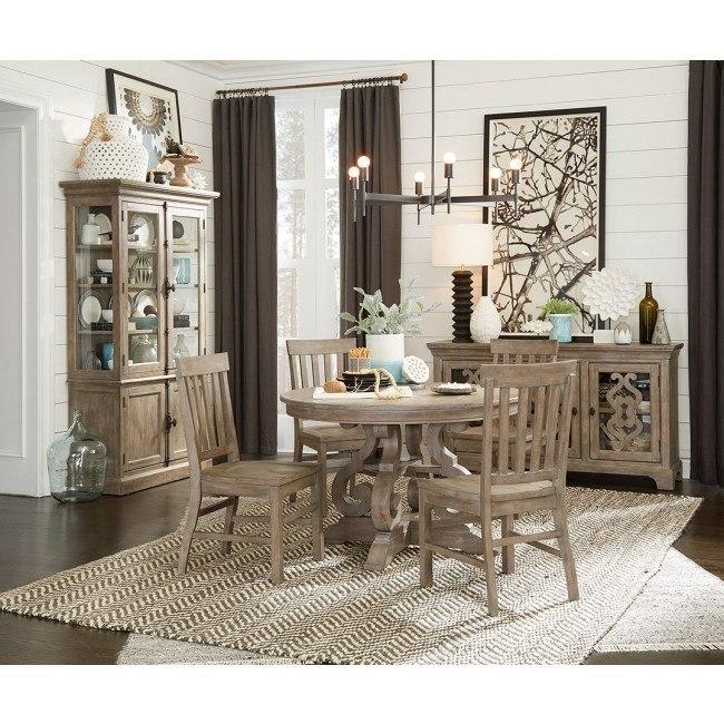 Tinley Park 48 Inch Round Dining Room Set By Magnussen Furniturepick