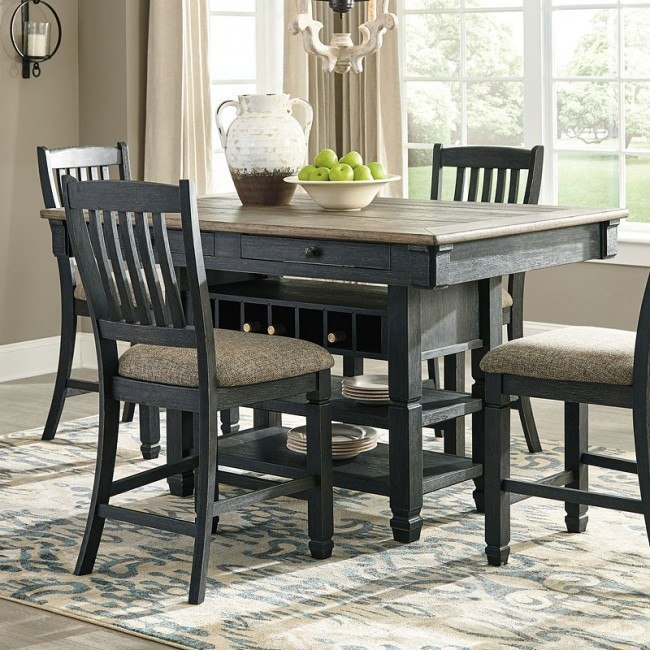 Tyler Creek Counter Dining Table By Signature Design By Ashley Furniturepick