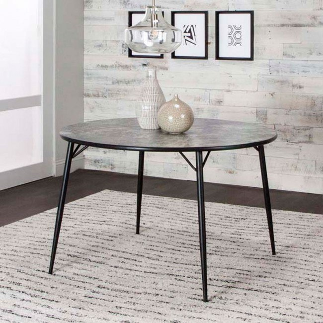 Anna 45 Inch Round Dining Table By Cramco Furniturepick
