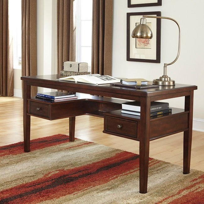 Hindell Park Home Office Desk Signature Design By Ashley Furniture Furniturepick
