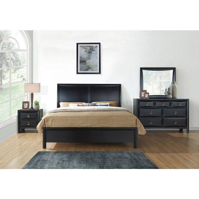 Lucas Bedroom Set Black By Global Furniture Furniturepick