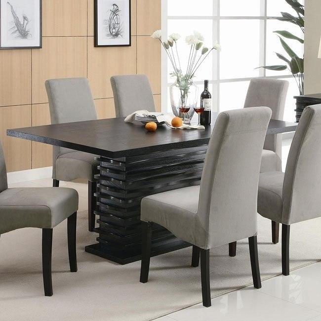 Stanton Contemporary Dining Table Coaster Furniture Furniturepick