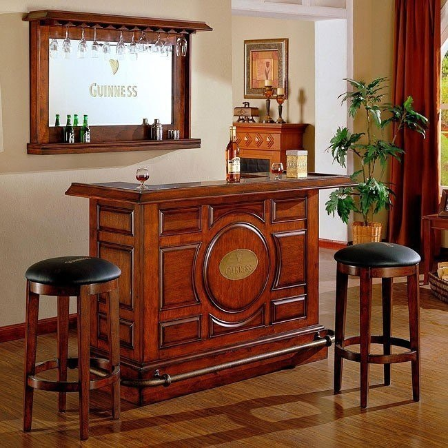Guinness Raised Panel Bar Set Eci Furniture Furniturepick
