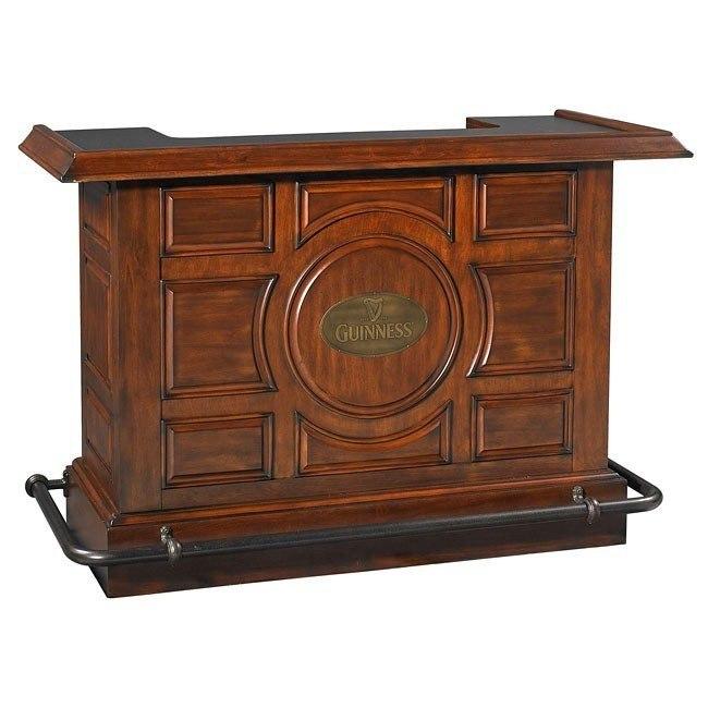 Guinness Raised Panel Bar Eci Furniture Furniturepick