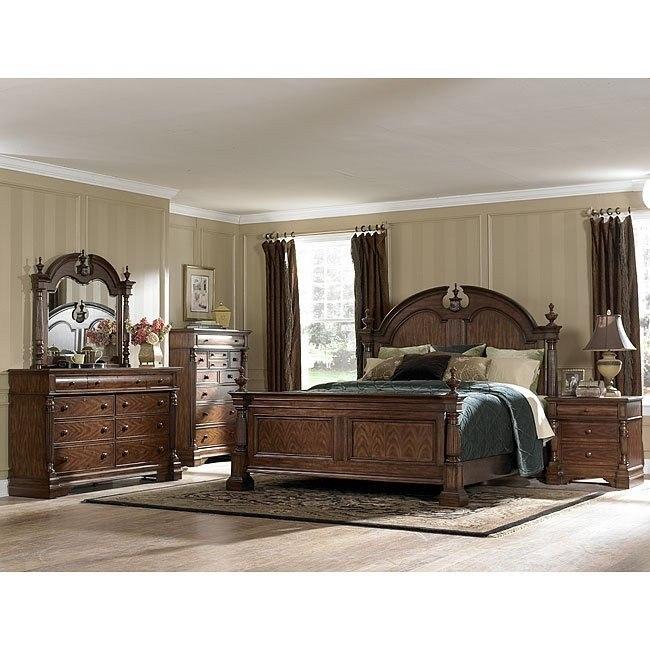 English Manor Panel Bedroom Set Homelegance Furniturepick