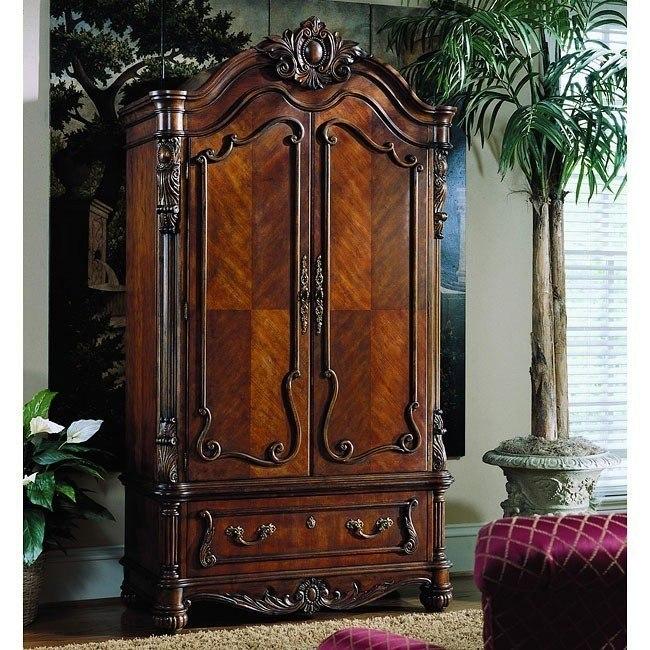 Edwardian Armoire Pulaski Furniture Furniturepick