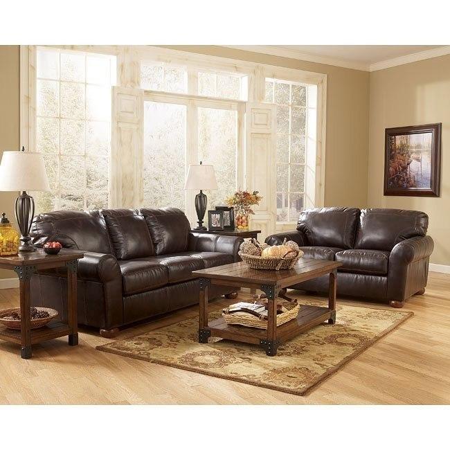 Cabot Durablend Canyon Living Room Set Signature Design By Ashley Furniture Furniturepick
