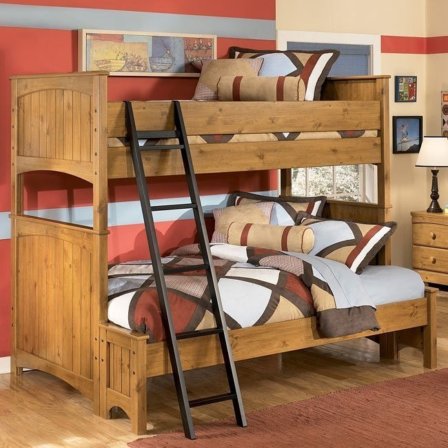 Stages Twin/ Full Bunk Bed