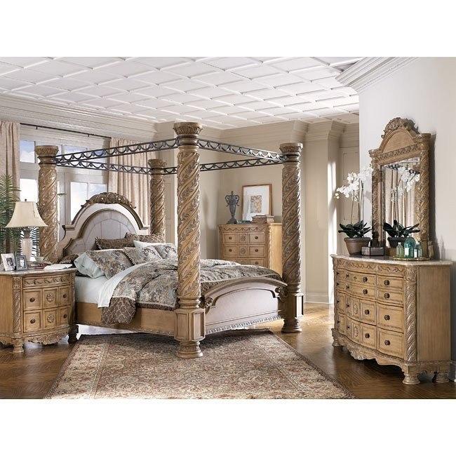 South Coast Poster Canopy Bedroom Set Signature Design By Ashley Furniture Furniturepick
