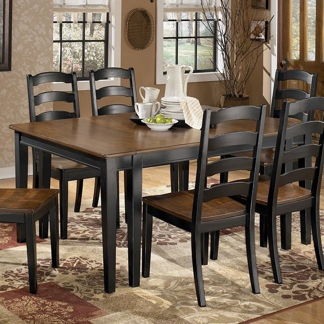 Owingsville Rectangular Extension Dining Table Signature Design By Ashley Furniture Furniturepick