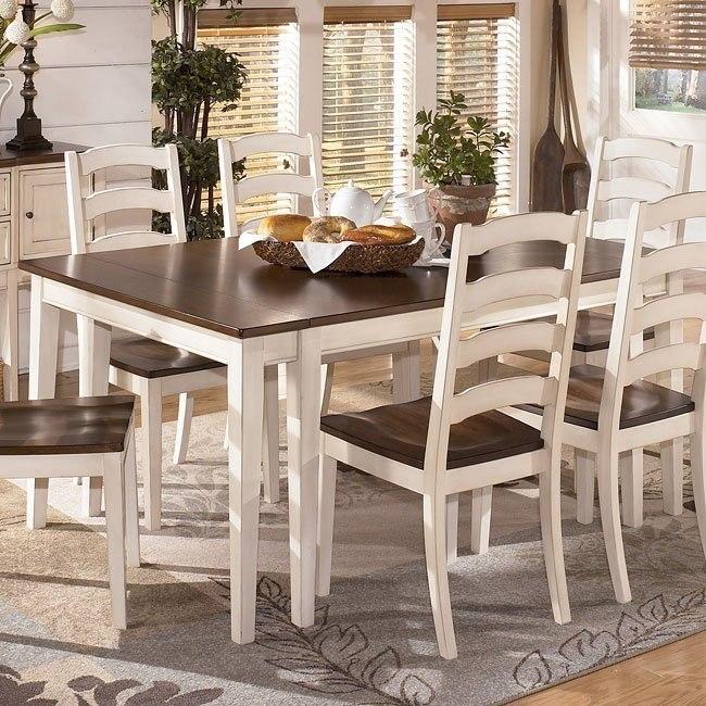 Whitesburg Rectangular Extension Dining Table Signature Design By Ashley Furniture Furniturepick