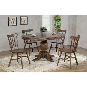 Theo 5 Piece Counter Height Dining Set Signature Design By Ashley Furniture Furniturepick