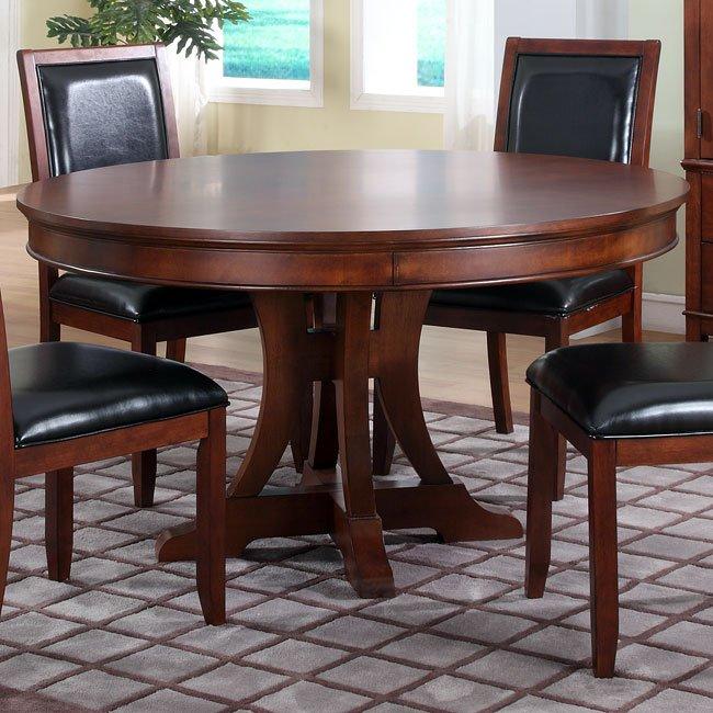 Avalon 54 Inch Round Table Homelegance Furniturepick