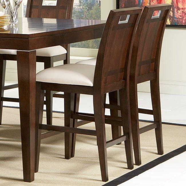 Keller Counter Height Chair (Set Of 2) Homelegance