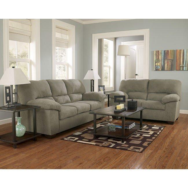 zadee sage living room set signature designashley