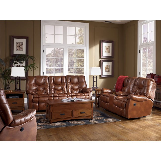 Hawkeye Dune Reclining Living Room Set Signature Design By Ashley Furniture Furniturepick