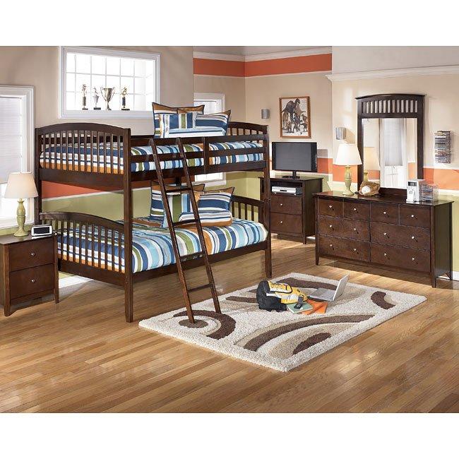 Nico Bunk Bed Bedroom Set Signature Design By Ashley Furniture Furniturepick