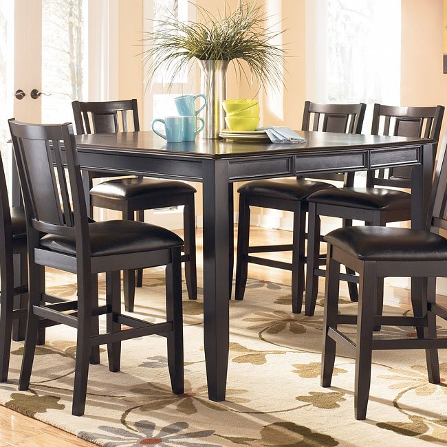 Carlyle Counter Height Table Signature Design By Ashley Furniture Furniturepick