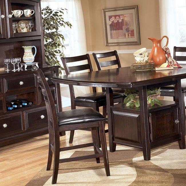 Ridgley Counter Height Dining Room Set Signature Design By Ashley Furniture Furniturepick