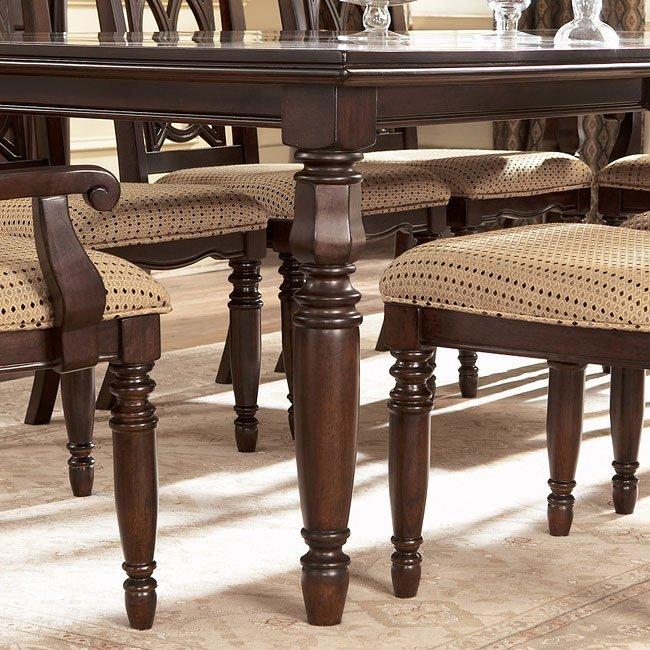 Leighton Rectangular Extension Table Signature Design by Ashley Furniture   FurniturePick