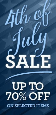 4th of July Furniture Sale!