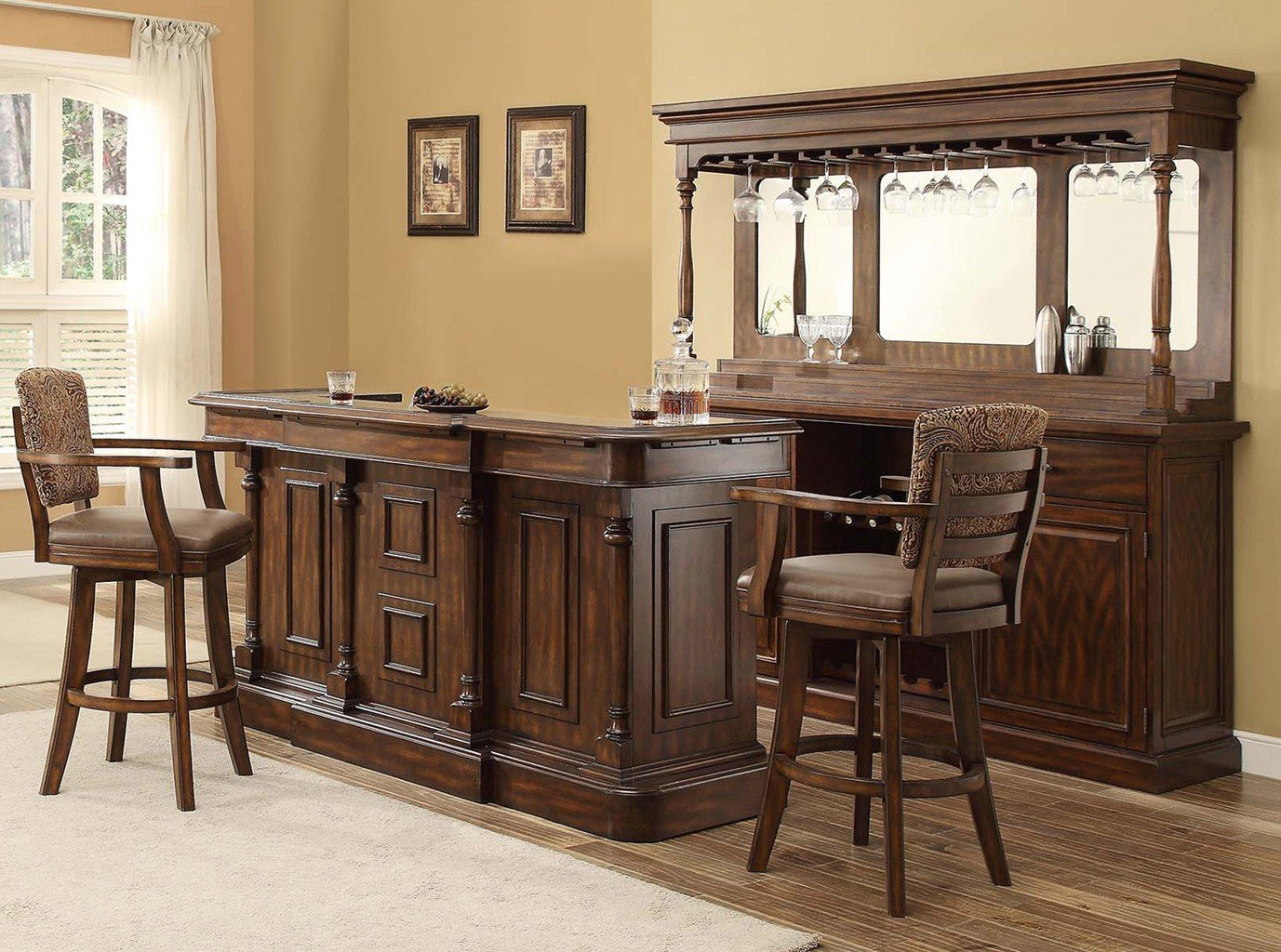 Trafalgar Square Deluxe Home Bar Set Home Bar And Game