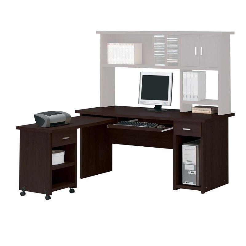 Linda L Shape Computer Desk