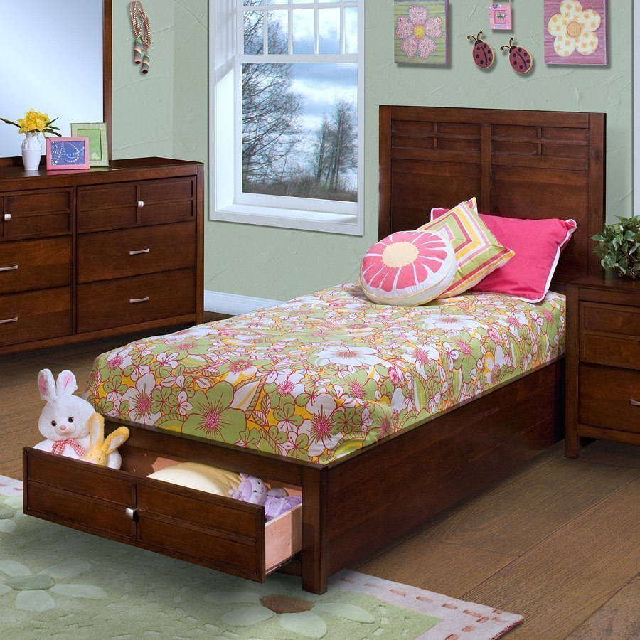 Exceptionnel Kensington Storage Bed (Twin) By New Classic Furniture