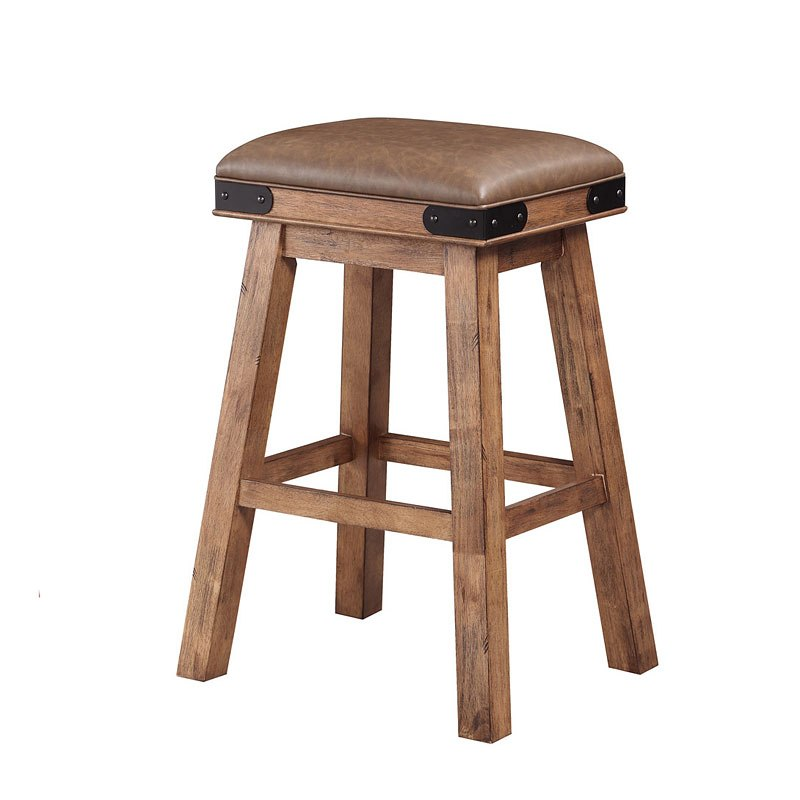 Shenandoah 30 Inch Saddle Stool Set Of 2
