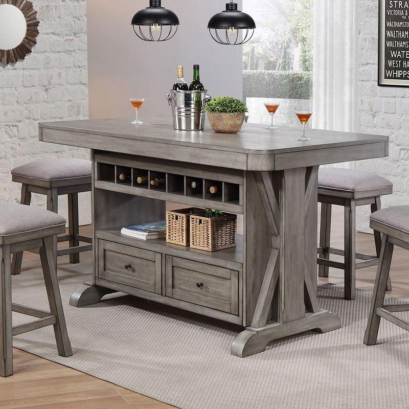 Kitchen Island Chair: Graystone Kitchen Island By ECI Furniture