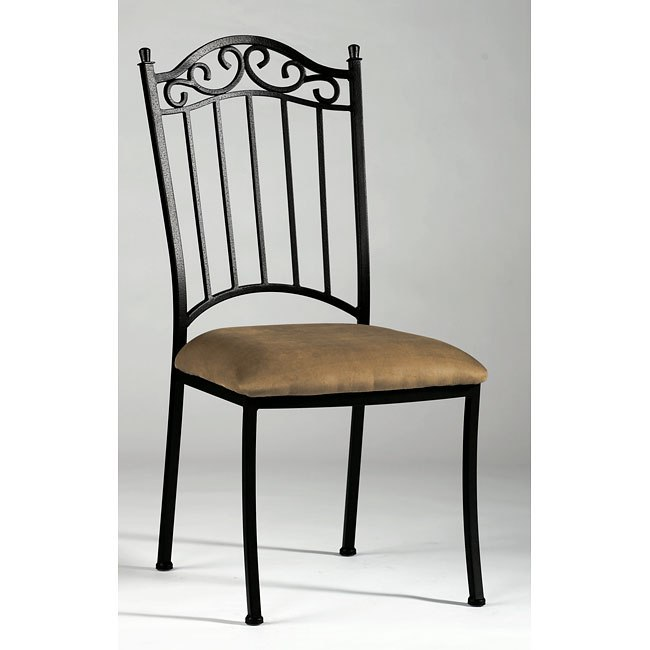 Wrought Iron Side Chair (Set Of 4) By Chintaly Imports