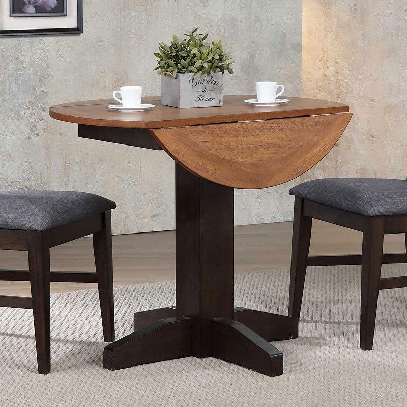 black oak drop leaf table by eci furniture furniturepick. Black Bedroom Furniture Sets. Home Design Ideas
