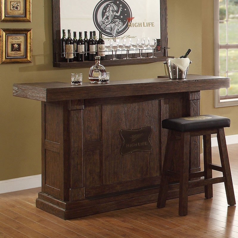 Bar Furniture Home: Miller High Life 65 Inch Home Bar By ECI Furniture