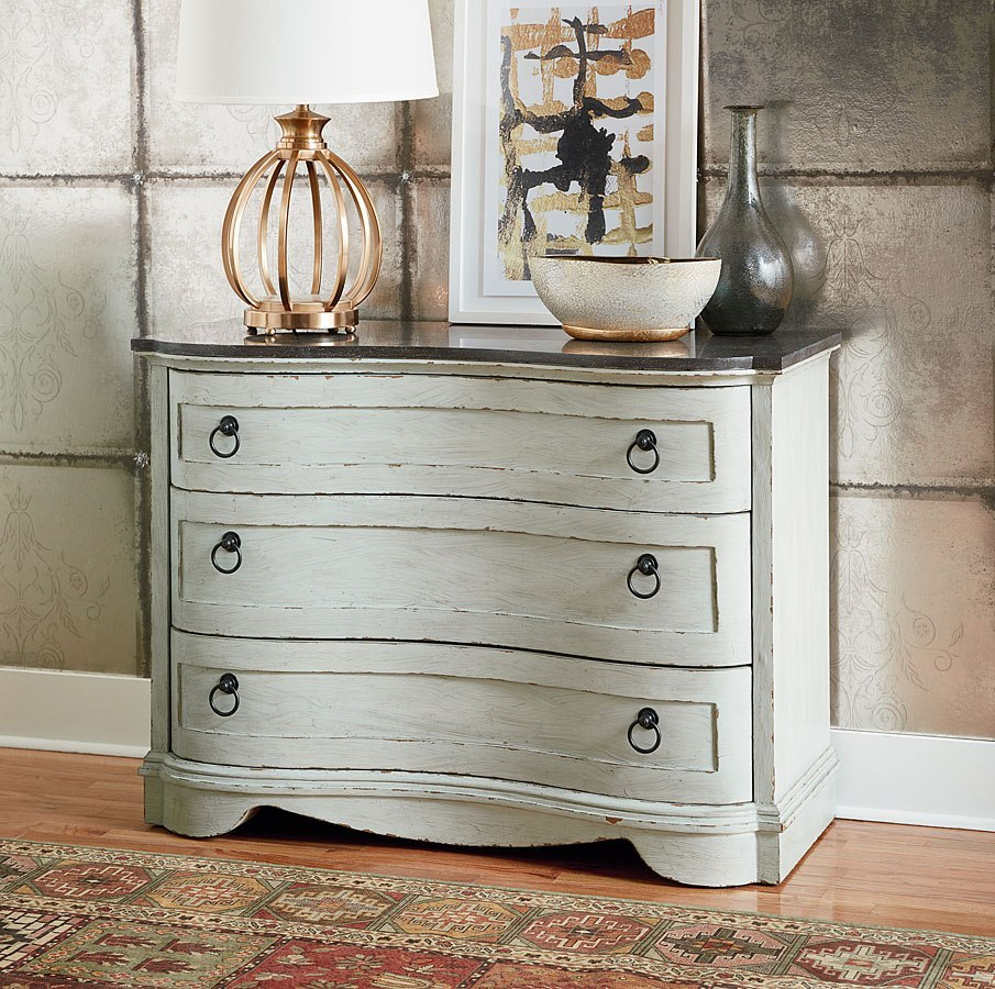 Etonnant Hidden Treasures Curved Accent Cabinet