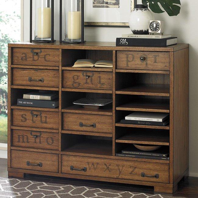 Hidden Treasures Printers Cabinet W Interchangeable