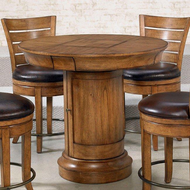 Hidden Treasures Oak Pub Table Bar Tables And Pub Tables