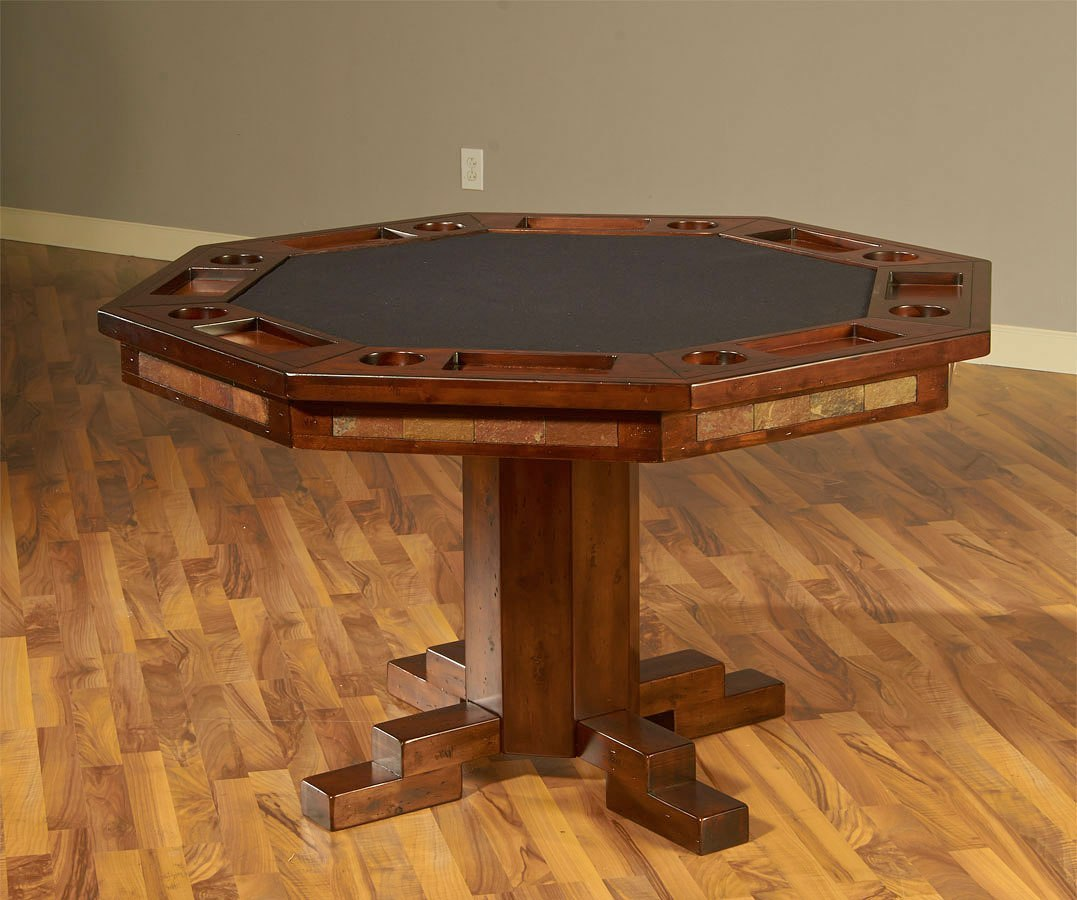Santa Fe Game And Dining Table Set By Sunny Designs