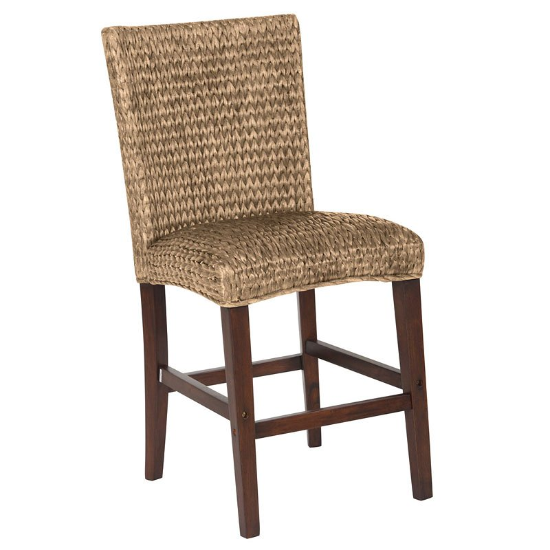 Westbrook Woven Counter Height Chair (Natural) (Set Of 2
