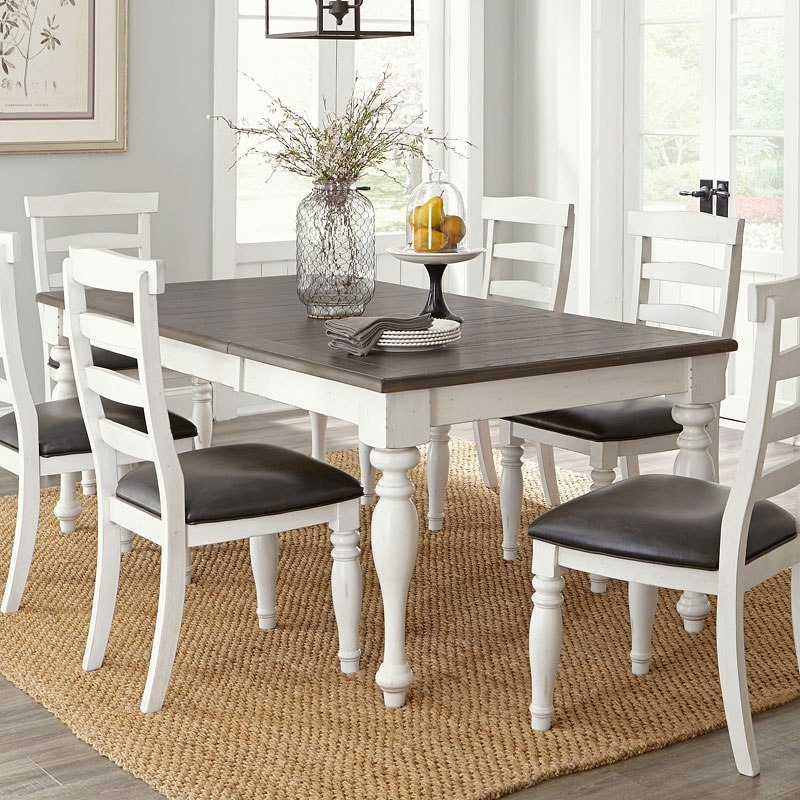 Bourbon County Extension Dining Table (French Country)