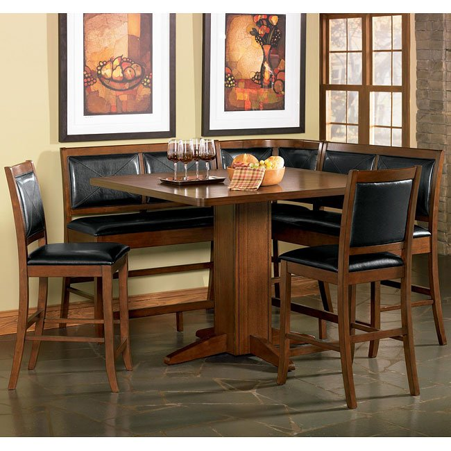 Lancaster Counter Height Dining Room Set Coaster Furniture