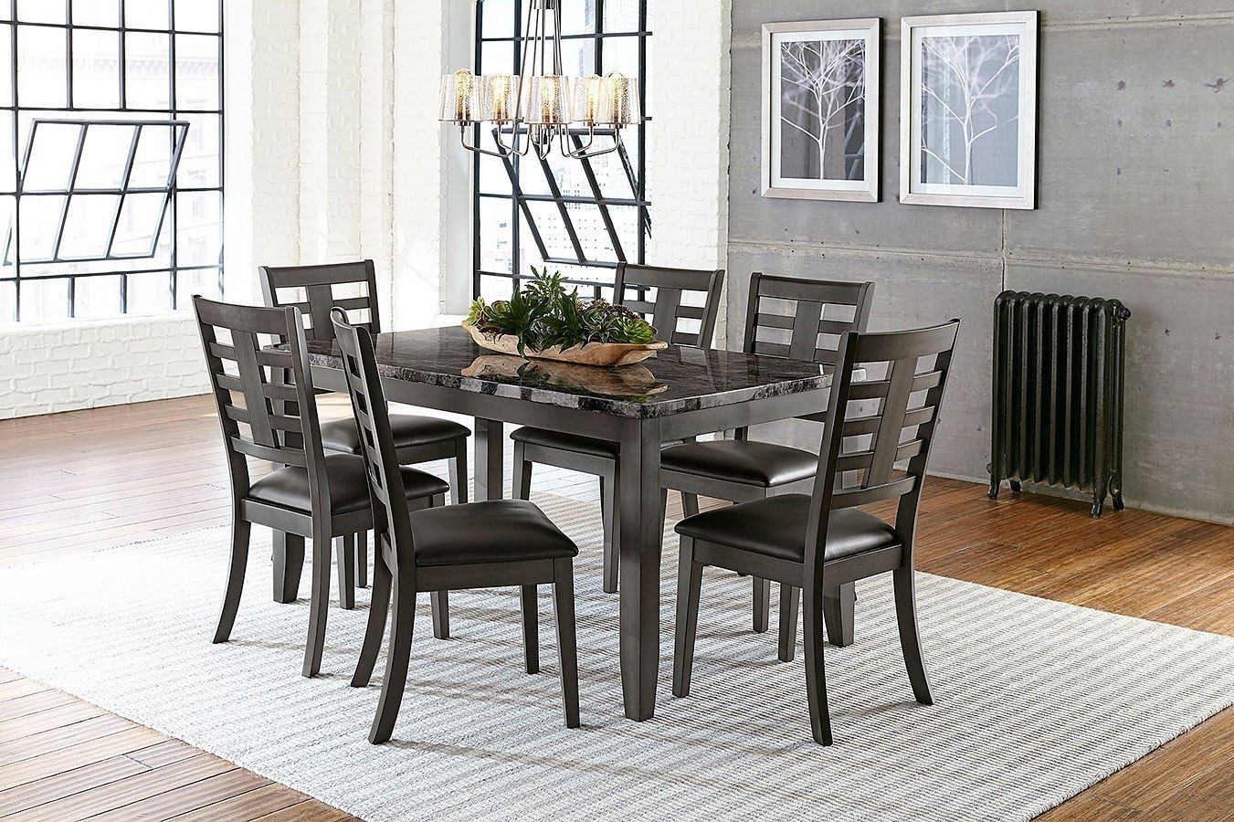 Canaan 7 piece dining room set