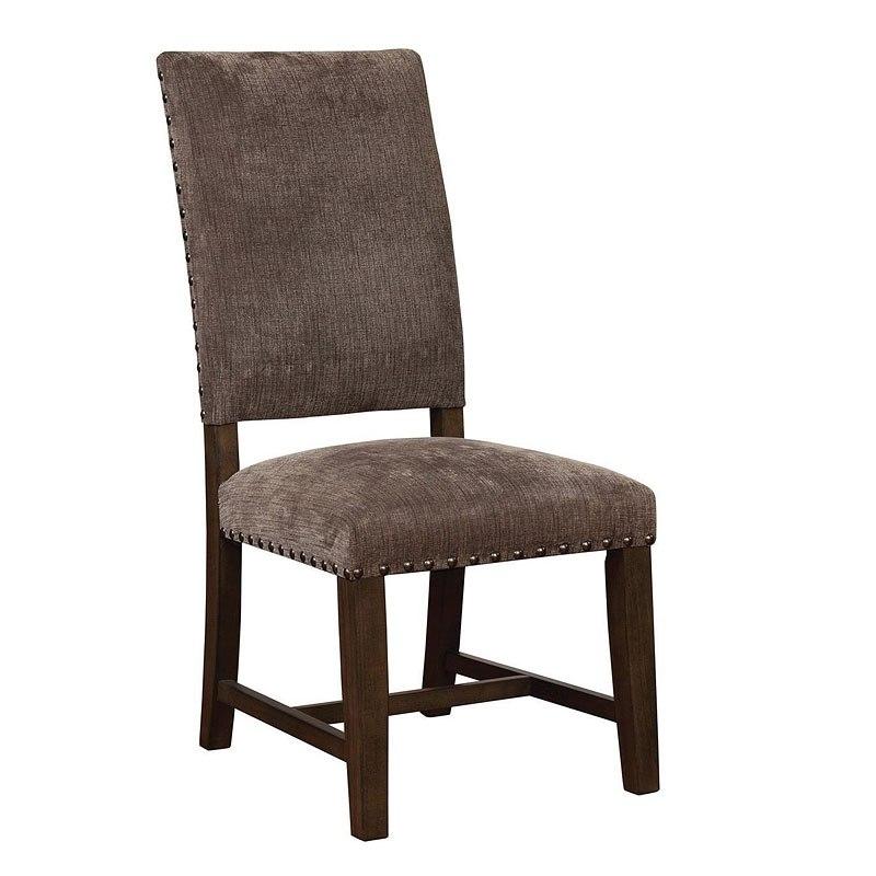 Binghamton Grey Parson Chair (Set Of 2) By Coaster Furniture
