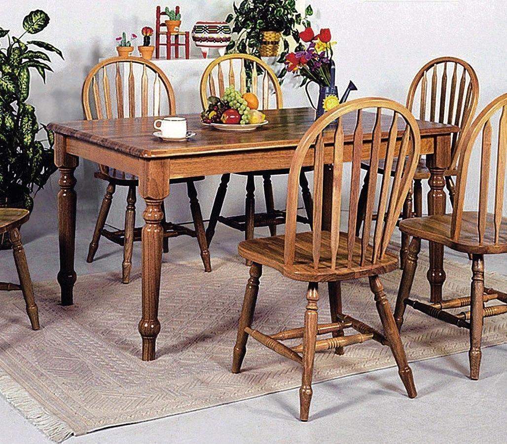 Farm House Rectangular Dining Table By Crown Mark