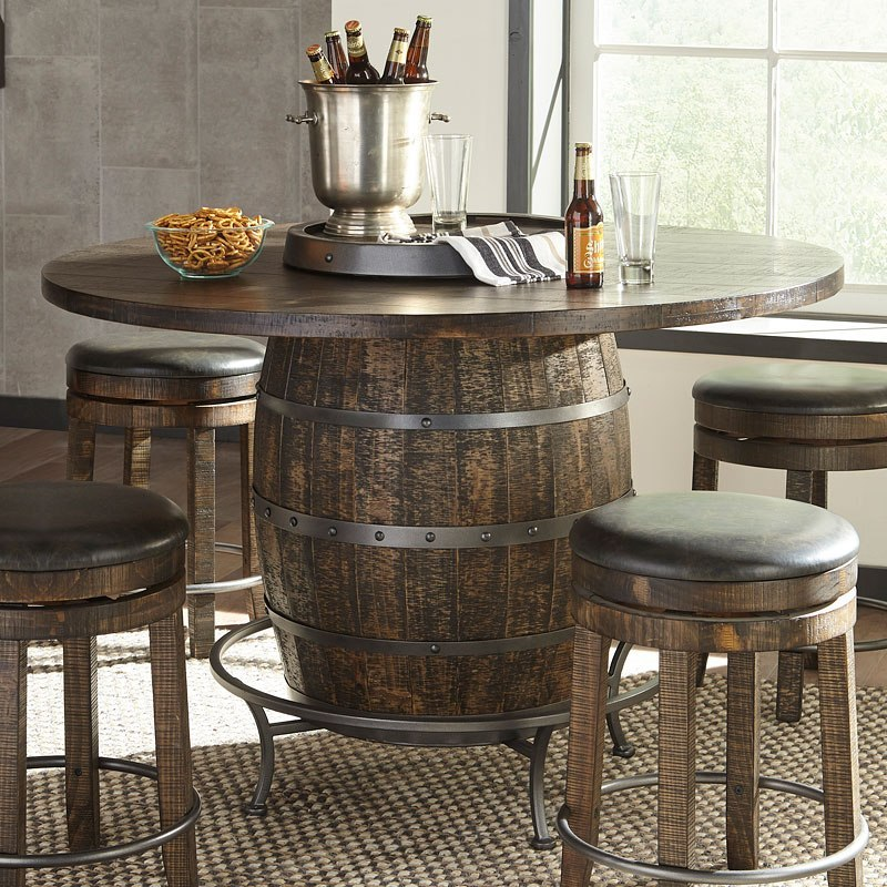 Phenomenal Metroflex Round Wine Barrel Pub Table Download Free Architecture Designs Scobabritishbridgeorg