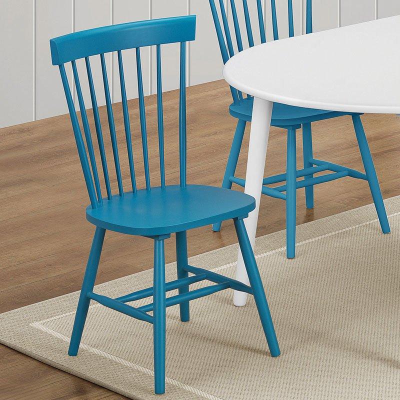 Emmett Side Chair (Teal) (Set Of 2)
