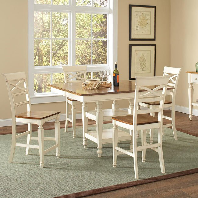 Ashley Counter Height Dining Room Set