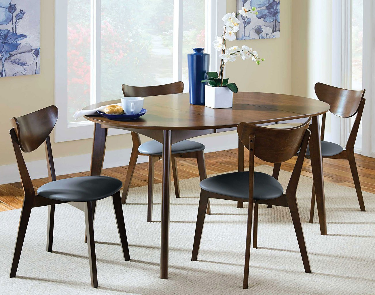 Malone Oval Dining Room Set Casual Dining Sets Dining