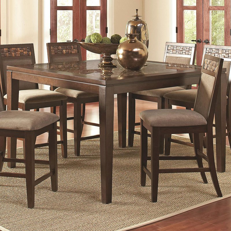 Trinidad Counter Height Table By Coaster Furniture