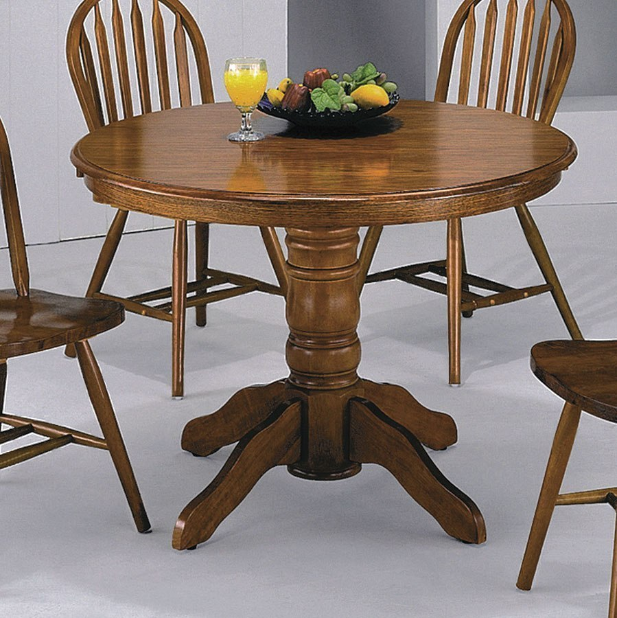 Farm House Round Dining Table By Crown Mark Furniture
