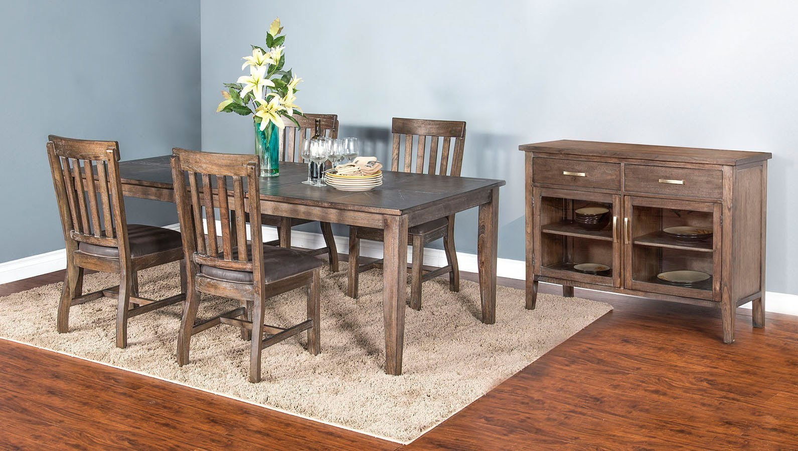 Reno Extension Dining Room Set by Sunny Designs ...